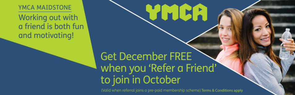 YMCA Refer a Friend Website banner